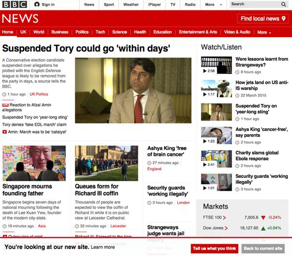 Despite damning feedback – BBC set to roll-out new website ...
