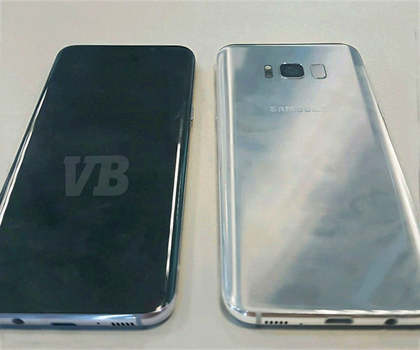 Renown leaker Evan Blass published this photo, believed to be of the finalised Samsung Galaxy S8