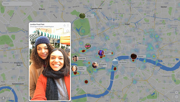 Snap Map contains a mixture of publicly-shared posts and curated content from Snap Inc editors
