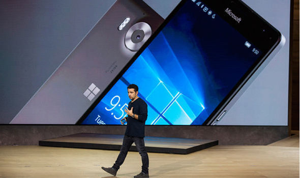 Microsoft will no longer create new hardware or software features for its Windows 10 Mobile platform  Microsoft cancelled a Windows Phone with THIS Samsung Galaxy S8 feature | Tech | Life & Style Windows Phone UK 1094937