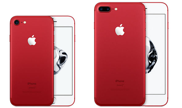 The special edition (PRODUCT) RED iPhone joins the five existing finishes, including Jet Black, Black, Silver, Gold and Rose Gold