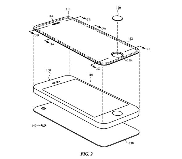 The patent explains how these durable materials could be used in future iPhones