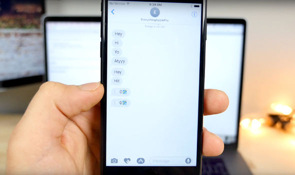 The malicious text message only uses three characters to crash your iPhone