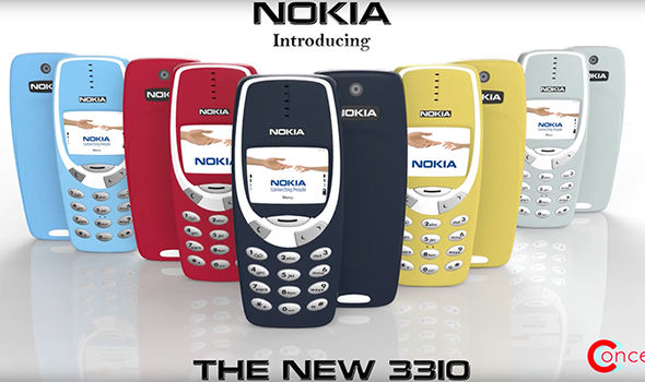 new nokia 3310 colours launch 2017