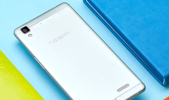 oopo f1 android smartphone launch china