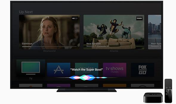 siri iphone super bowl apple tv
