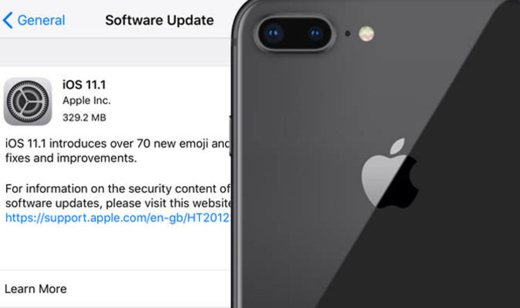 iPhone update protects you against THIS terrifying Wi Fi attack  and     iPhone update protects you against THIS terrifying Wi Fi attack  and has 70  new emoji    Express co uk