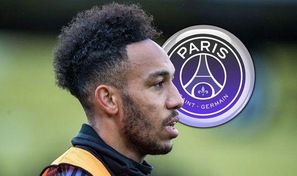 Arsenal striker Pierre-Emerick Aubameyang has emerged as a target for PSG