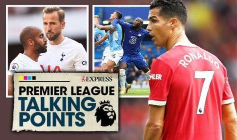Premier League talking points: Ronaldo's Man Utd cracks, Chelsea set up, Spurs rock-bottom