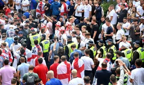 England handed two-match punishment for unruly fans in Euro 2020 final against Italy