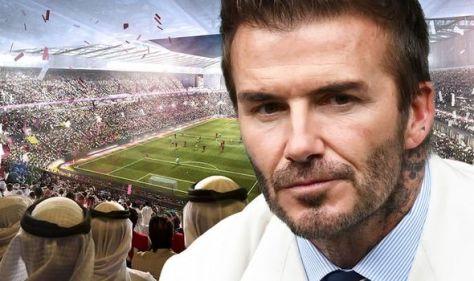 David Beckham slammed as 'hypocritical' over controversial £150m Qatar World Cup deal