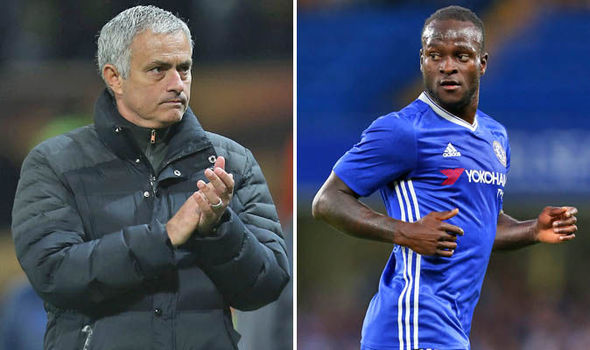 Image result for Moses and Mourinho Chelsea