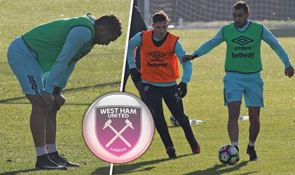Dimitri Payet West Ham training under-23s sportgalleries