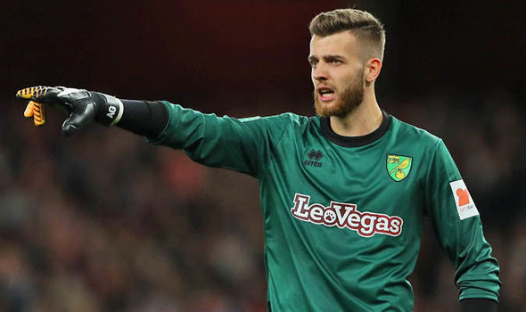 Norwich City news: Angus Gunn belongs at Carrow Road - Daniel Farke