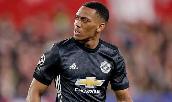 Anthony Martial's current contract runs out in 2019