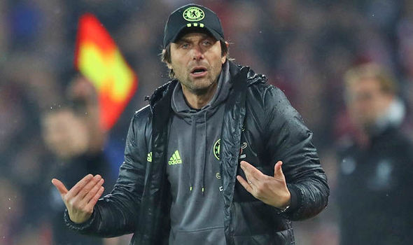 Antonio Conte's Chelsea are nine points clear at the top of the table