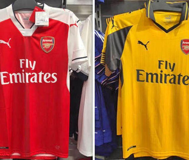 Arsenal Ross Lambert Twitter Arsenals New Shirts