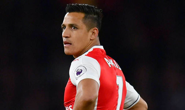 Arsenal Alexis Sanchez