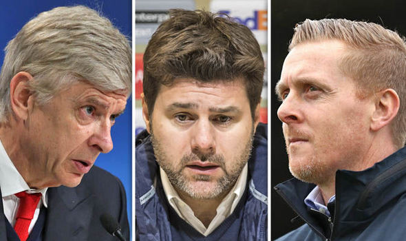 Wenger, Pochettino and Monk