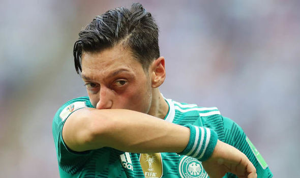 Arsenal transfer news Unai Emery Mesut Ozil