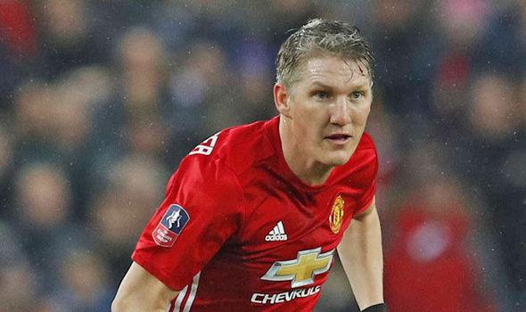Manchester United's Bastian Schweinsteiger