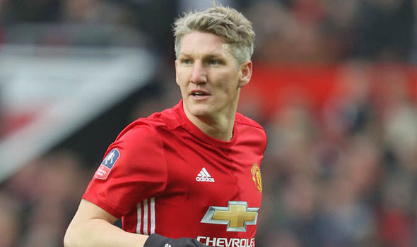 Bastian Schweinsteiger at Man United