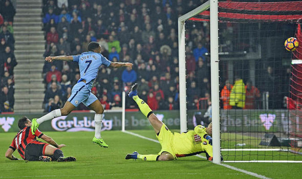 Bournemouth v Manchester City match report