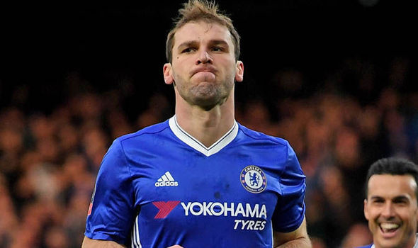 Branislav Ivanovic could leave Chelsea this month