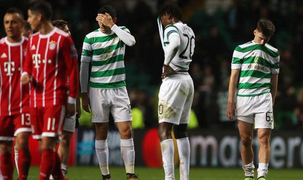 Celtic couldn't overcome Bayern Munich