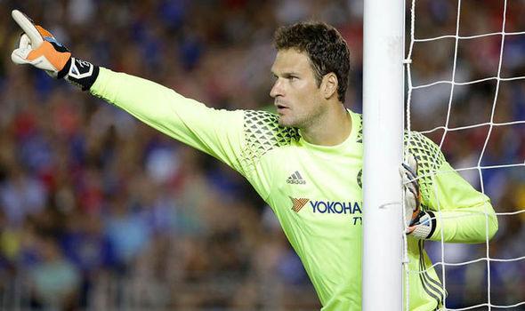 Chelsea Asmir Begovic Bournemouth