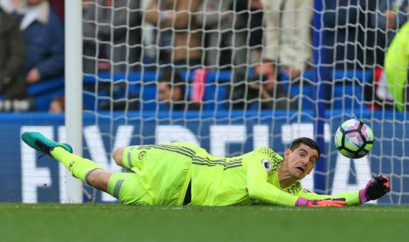 Chelsea v Tottenham injury news Thibaut Courtois