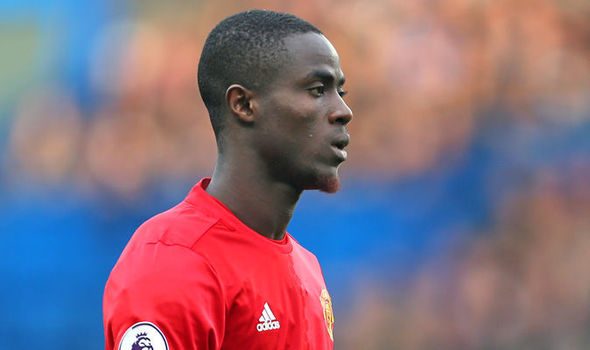 Man United defender Eric Bailly