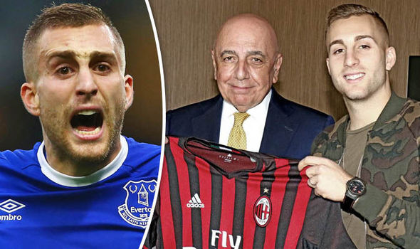 Gerard Deulofeu leaves Everton for AC Milan