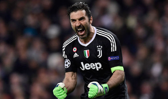 Juventus news: Goalkeeper Gianluigi Buffon makes SHOCK Michael Oliver  admission | Football | Sport | Express.co.uk