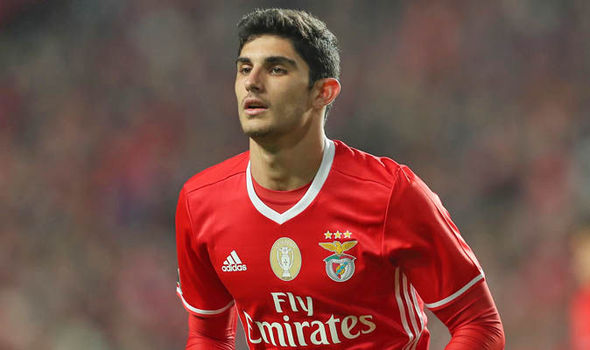 Manchester United transfer target Goncalo Guedes