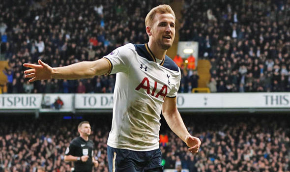 Harry Kane has been in sensational form of late, scoring eight goals in his last four games