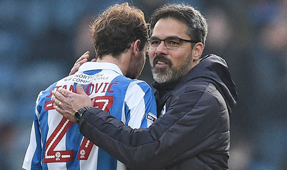 Huddersfield earned a hard-fought replay against Manchester City