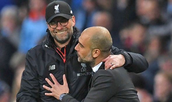 Image result for klopp guardiola