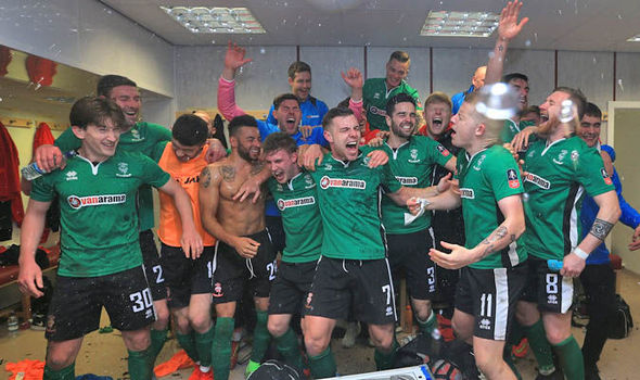 Lincoln have become the first non-league side to reach the FA Cup quarter-final since 1914