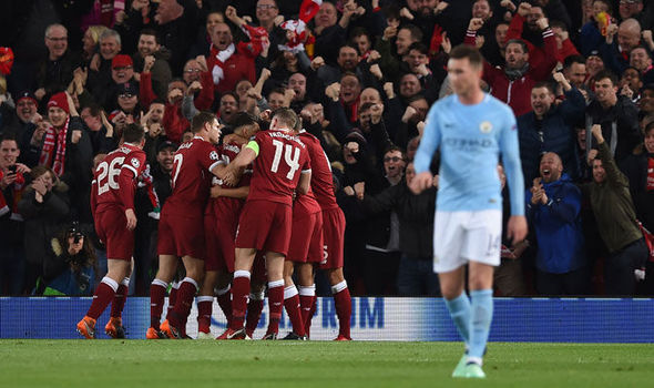 Image result for liverpool manchester city