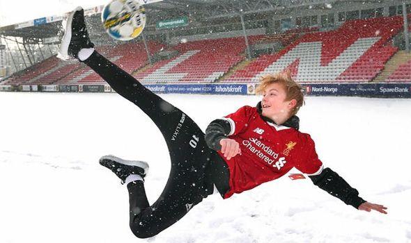 Image result for Isak Hansen-Aaroen