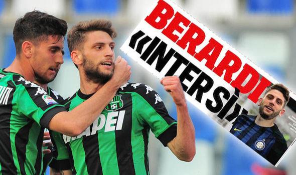 Liverpool transfer target Domenico Berardi