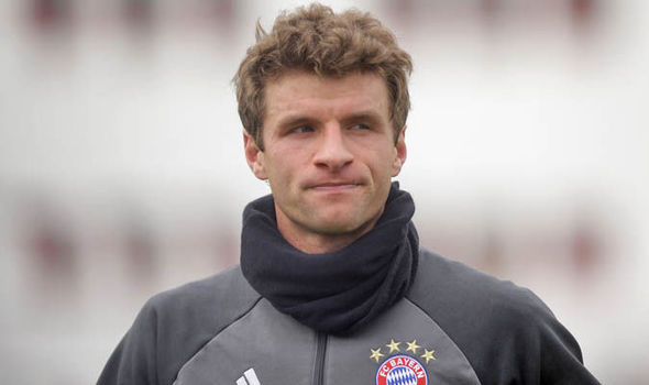 Manchester United reportedly made an £85million bid for Thomas Muller