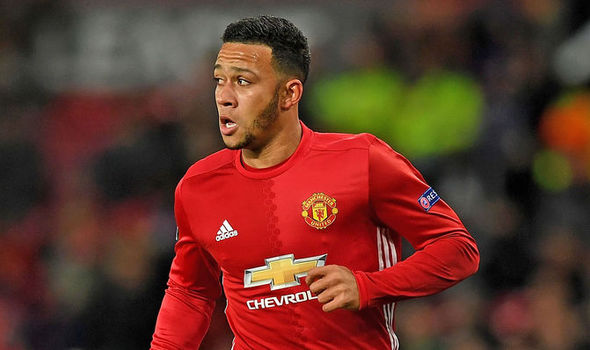 Manchester United star Memphis Depay
