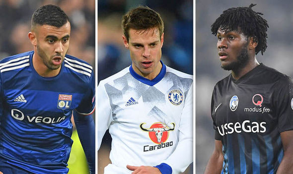 Manchester United and Chelsea transfer news