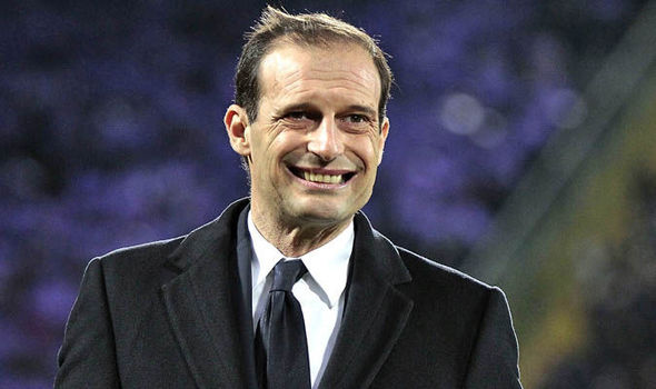 Max Allegri at Arsenal