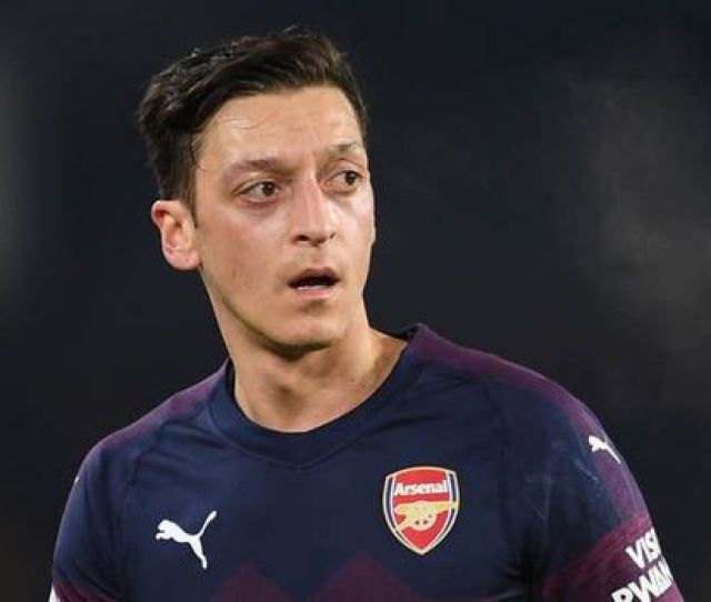 Arsenal Ace Mesut Ozil Has Been Linked With Inter Milan Image Getty