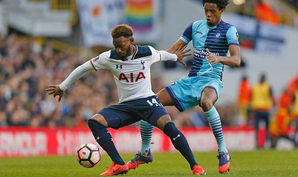 NKoudou at Tottenham