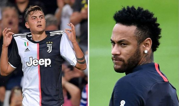 Barcelona offer for Neymar rejected as PSG due to Paulo Dybala ...