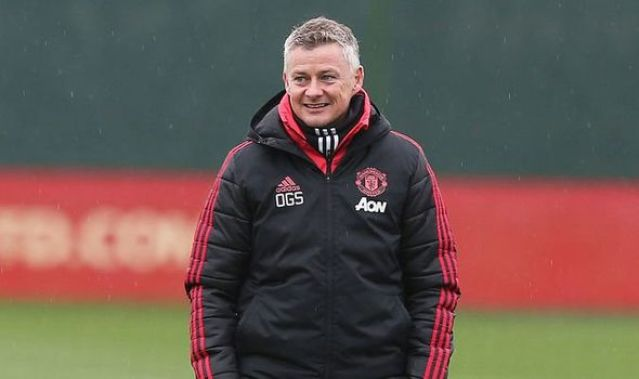 Image result for solskjaer training